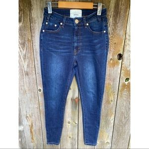 ONE TEASPOON high waist freebird fitted leg jeans